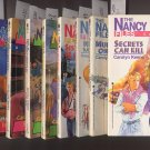Lot of 9 Nancy Drew Casefiles - #1,3,16,19,83,87,88,98,110 PB