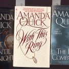 Lot of 3 Amanda Quick - Ring, Companion, Midnight PB