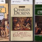 Lot of 3 Dickens - Pickwick, Tale, Great Expectations PB