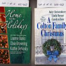 Lot of 2 Christmas Silhouette Anthologies - Banks, Zane, more