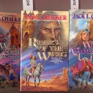 Lot of 3 Changewinds  by Jack L. Chalker When, Riders, War PB