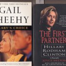 Lot of 2 Hillary Clinton - Hillary's Choice, First Partner SC