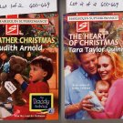 Lot of 2 Harlequin Father Christmas Arnold, Heart of Christmas Quinn PB