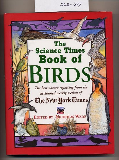 The Science Times Book of Birds 1997 signed HC
