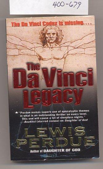 The Da Vinci Legacy by Lewis Perdue PB