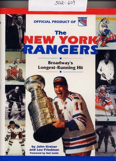 The New York Rangers Broadway's Longest-Running Hit HC