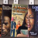 Lot of 4 Bluford Series by Anne Schraff - Lost, Trust, more PB