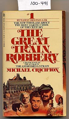 The Great Train Robbery by Michael Crichton PB