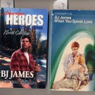 Lot of 2 BJ James When You Speak Love, Pride and Promises PB