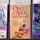 Lot of 3 Teresa Medeiros One Night, Touch of Enchantment, Once an Angel PB