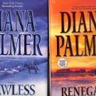 Lot of 2 Diana Palmer Lawless, Renegade HC