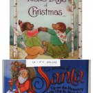 Lot of 2 Christmas Stories of Santa, 12 Days of Christmas HC
