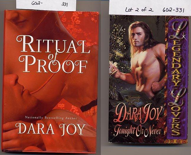 Lot of 2 Dara Joy Ritual of Proof, Tonight or Never