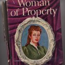 Woman of Property by Mabel Seeley vintage HC