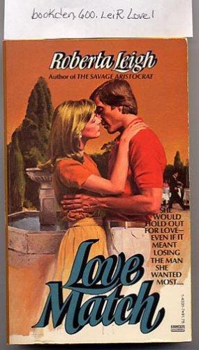 Love Match by Roberta Leigh 1980 PB