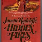 Hidden Fires by Janette Radcliffe 1978 PB