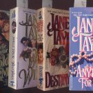 Lot of 4 Janelle Taylor Anything for Love, Destiny, Wild, Golden PB