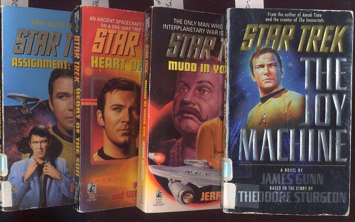 Lot of 4 Star Trek #s 80, 81, 83, 84 PBs