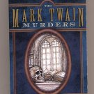 The Mark Twain Murders by Edith Skom PB