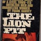 The Lion Pit by Frank Harvey 1962 PB
