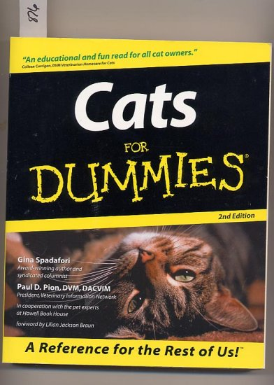 Cats for Dummies SC