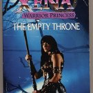 Xena Warrior Princess The Empty Throne by Ru Emerson PB