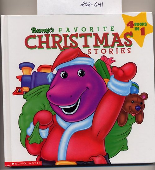 Barney�s Favorite Christmas Stories 4 books in 1 HC