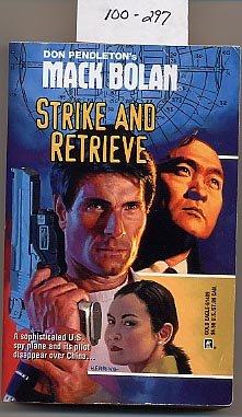 Mack Bolan Strike and Retrieve by Don Pendleton PB
