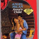 Anna's Child by Angel Milan Silhouette Desire #226 PB