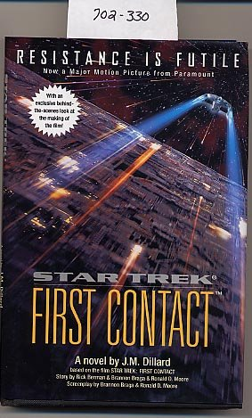 Star Trek First Contact by J.M. Dillard HC