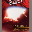 1-900-Lover Harlequin Blaze #158 by Rhonda Nelson PB