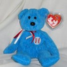 Addison the Baseball Bear Ty Beanie Baby