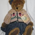 Clarissa Plush Bear by Boyds Bears