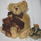Uncle Gus and Gary The Gift Figure and Plush Bear Set by Boyds Bears
