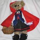 Little Red Riding Hood Annette Funicello Plush Bear