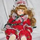 Beth Porcelain Clown Doll Victoria Ashlea by Goebel
