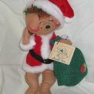 Annalee Bear in Santa Suit 1990 12 inches tall