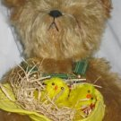 J D the Official John Deere Collector Teddy Bear Franklin Mint