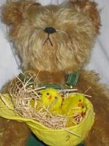 J D the Official John Deere Collector Teddy Bear Franklin Mint