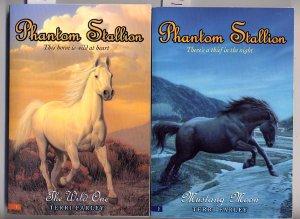 Lot of 2 Phantom Stallion The Wild One Mustang Moon SC