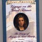 Dear America Voyage on the Great Titanic by Ellen Emerson White HC