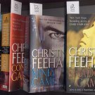 Lot of 4 Christine Feehan Game, Shadow, Mind, Conspiracy, Deadly PB