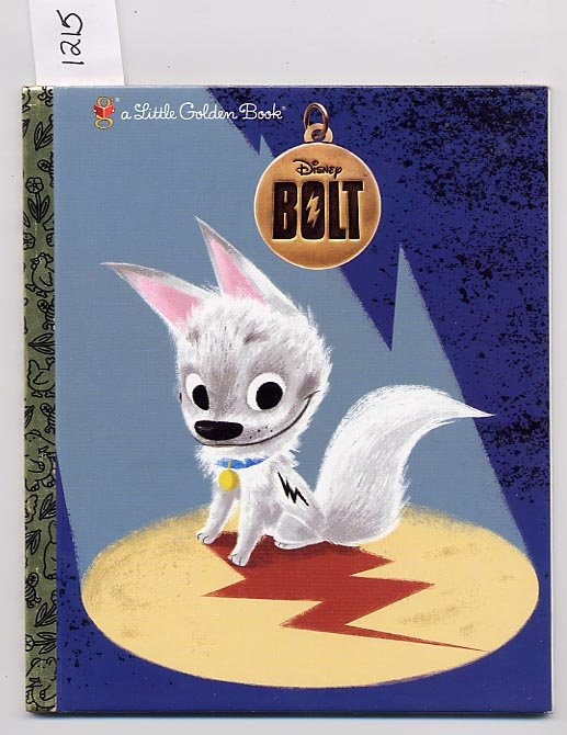 Disney's Bolt Little Golden Book HC