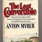 The Last Convertible by Anton Myrer PB