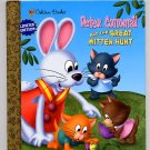 Golden Books Peter Cottontail and the Great Mitten Hunt HC
