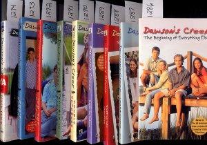 Lot of 9 Dawson's Creek Paperback Books