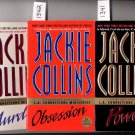 Lot of 3 L.A. Connections Miniseries by Jackie Collins PB