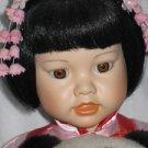 Mei Mei Danbury Mint Porcelain Doll