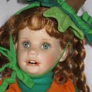 Lil' Punkin Porcelain Pumpkin Doll by Hamilton Collection