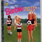 Little Golden Book Barbie Soccer Coach HC